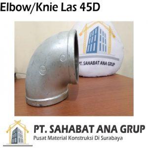 ELBOW / KNIE LAS 45D