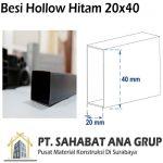 Besi Hollow Hitam 20x40