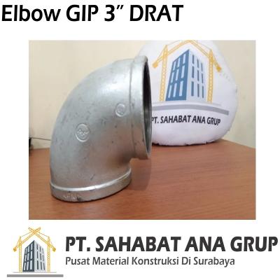 Elbow GIP 3 Inch DRAT