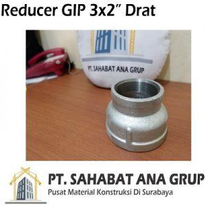 Reducer Gip 3x2 Inch Drat
