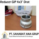 Reducer Gip 4x3 Inch Drat