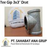 Tee Gip 3x3 Inch Drat