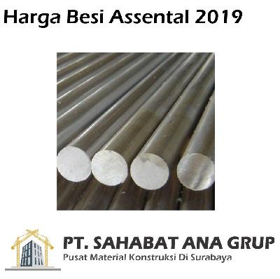 Harga Besi Assental 2019