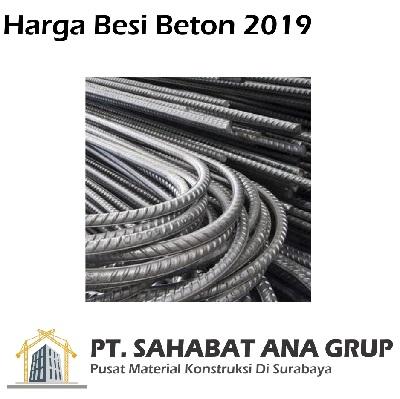 Harga Besi Beton 2019