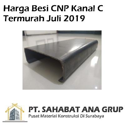 Harga Besi CNP Kanal C Termurah Juli 2019