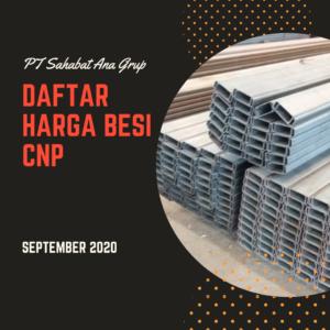Daftar Harga Besi CNP September 2020